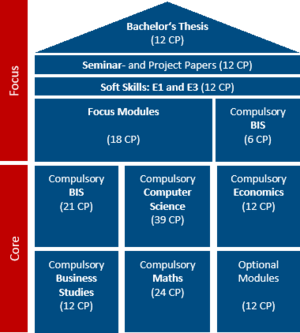 Structure of the Bachelor's programme